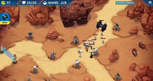 Star wars: Galactic defense screenshot 2