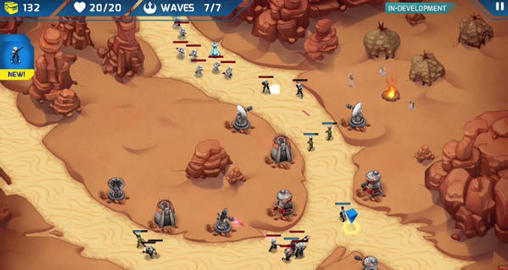 Star wars: Galactic defense screenshot 3