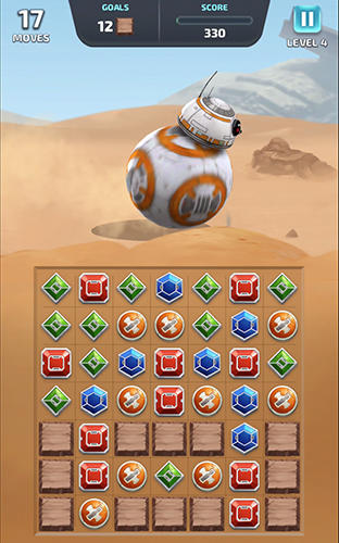 Screenshots von Star wars: Puzzle droids für Android-Tablet, Smartphone.
