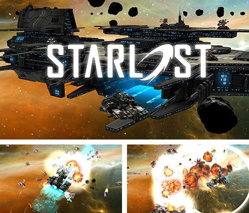 In addition to the game Starship Battles for Android phones and tablets, you can also download Starlost for free.