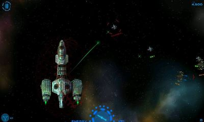 Screenshots of the Starship Battles for Android tablet, phone.