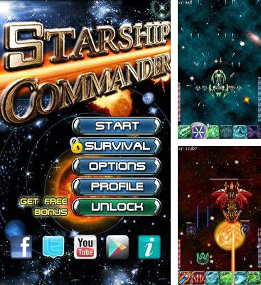 In addition to the game Rotate to Win for Android phones and tablets, you can also download Starship Commander for free.