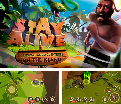 Stay alive: Survival and adventures on the island