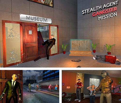 In addition to the game Dinosaur park hero survival for Android phones and tablets, you can also download Stealth agent gangster mission for free.