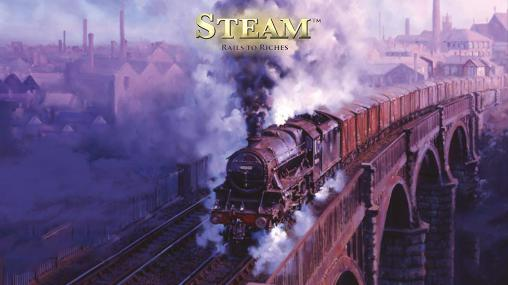 Steam: Rails to riches обложка