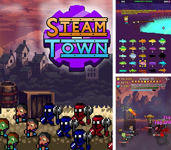 Steam town inc. Zombies and shelters. Steampunk RPG