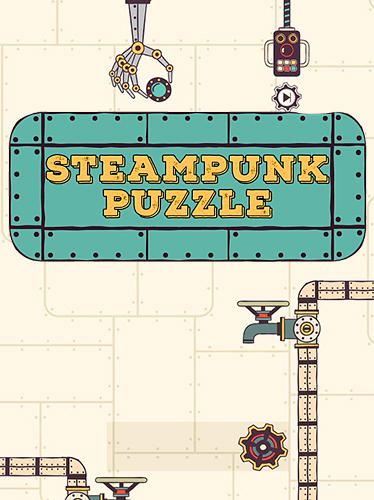 Steampunk puzzle: Brain challenge physics game poster