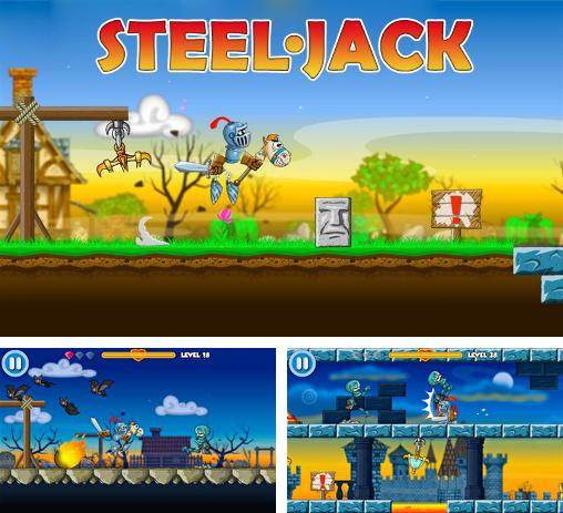 In addition to the game Tank Hero Laser Wars for Android phones and tablets, you can also download Steel Jack for free.