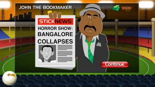 Capturas de pantalla de Stick cricket: Premier league para tabletas y teléfonos Android.