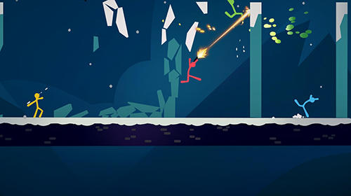 Screenshots von Stick fight: The game für Android-Tablet, Smartphone.