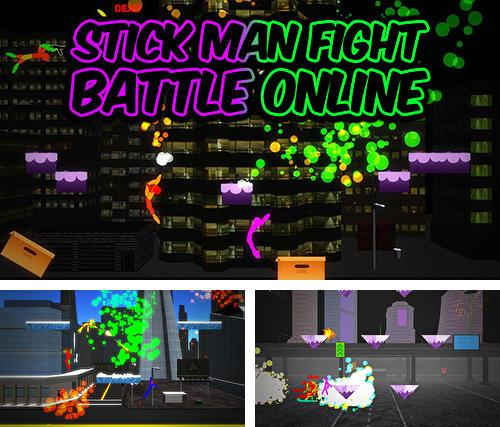 Stick man fight: Battle online. 3D game