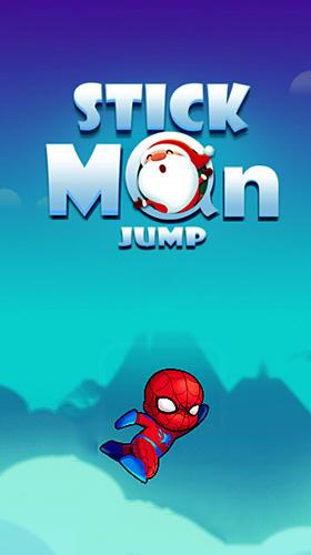 Stick man jump poster