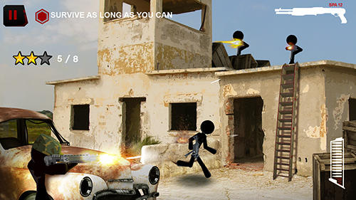 Screenshots von Stick squad: Sniper battlegrounds für Android-Tablet, Smartphone.