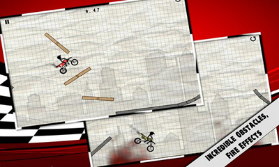 Stick Stunt Biker screenshot 2