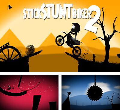In addition to the game Stickman Ski Racer for Android phones and tablets, you can also download Stick Stunt Biker 2 for free.