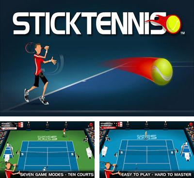 In addition to the game Cross Court Tennis for Android phones and tablets, you can also download Stick Tennis for free.