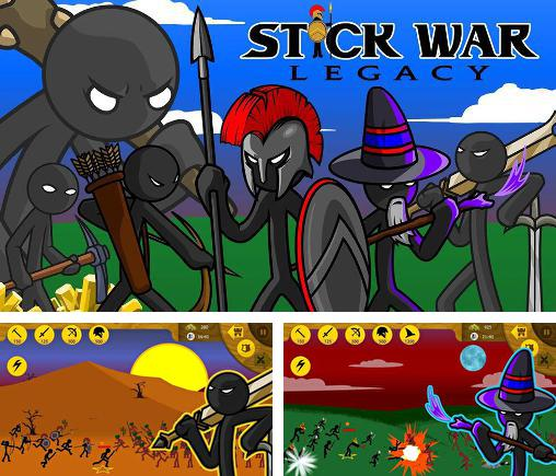 In addition to the game Cartoon wars 3 for Android phones and tablets, you can also download Stick war: Legacy for free.