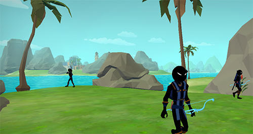Stickman archery 2: Bow hunter screenshot 1