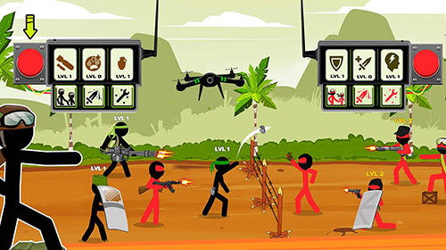 Jogue Stickman warriors: UFB fighting para Android. Jogo Stickman warriors: UFB fighting para download gratuito.