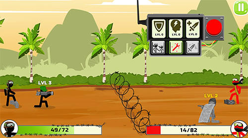 Screenshots do Stickman warriors: UFB fighting - Perigoso para tablet e celular Android.