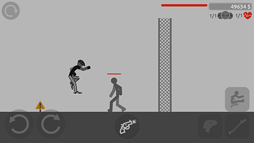 Kostenloses Android-Game Stickman: Backflip Killer 4. Vollversion der Android-apk-App Hirschjäger: Die Stickman backflip killer 4 für Tablets und Telefone.