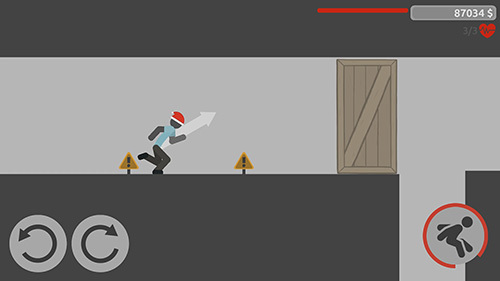 Screenshots von Stickman backflip killer 4 für Android-Tablet, Smartphone.