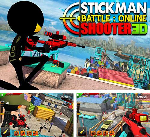Stickman battle: Online shooter 3D