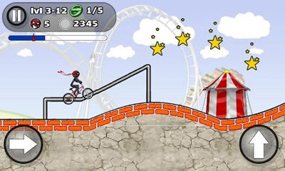 StickMan BMX Stunts Bike скриншот 2