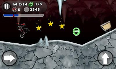 Screenshots do StickMan BMX Stunts Bike - Perigoso para tablet e celular Android.