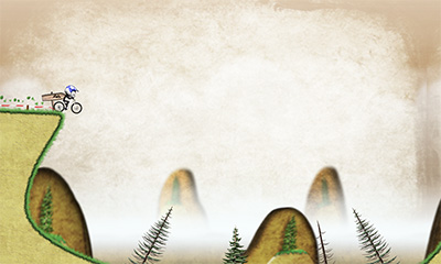 Screenshots von Stickman downhill für Android-Tablet, Smartphone.