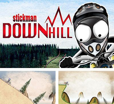 In addition to the game Stickman Ski Racer for Android phones and tablets, you can also download Stickman downhill for free.