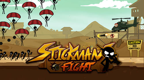 Stickman fight poster