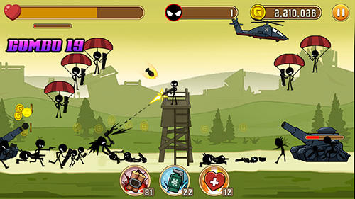 Stickman fight screenshot 1