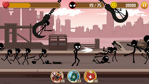 Stickman fight screenshot 2