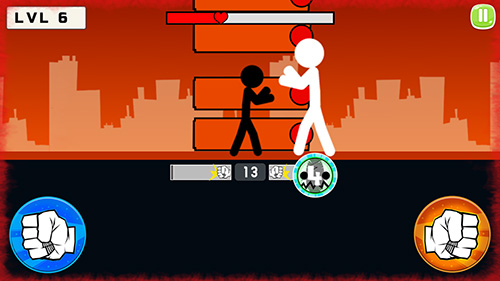 Stickman fight 2018 скриншот 2