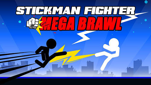 Stickman fighter: Mega brawl обложка