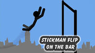 Stickman flip on the bar