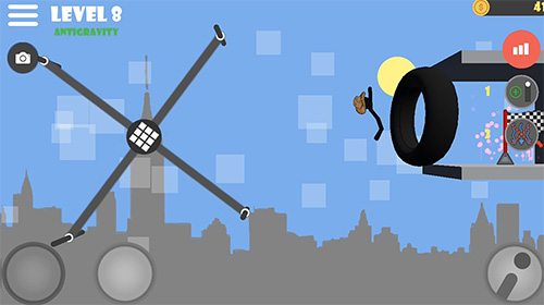 Stickman flip on the bar für Android spielen. Spiel Stickman Flip am Reck kostenloser Download.