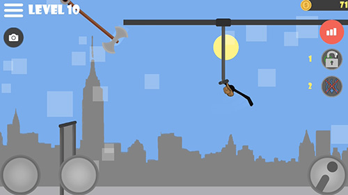 Screenshots von Stickman flip on the bar für Android-Tablet, Smartphone.