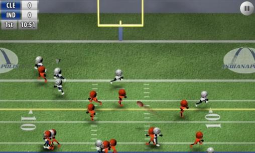 Screenshots von Stickman football für Android-Tablet, Smartphone.
