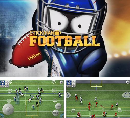 In addition to the game Stickman Tennis for Android phones and tablets, you can also download Stickman football for free.