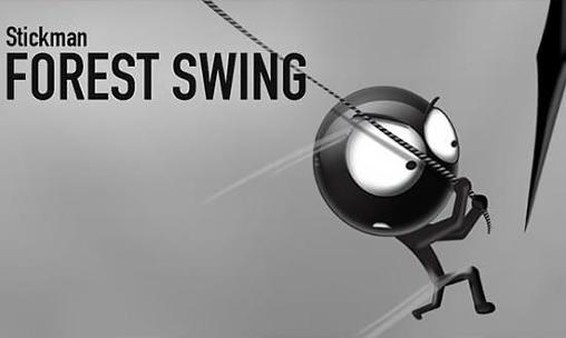 Stickman forest swing poster