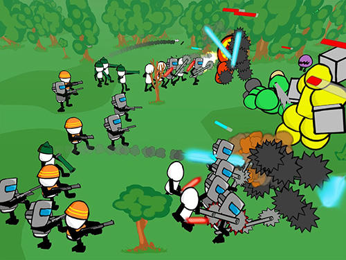 Stickman gun battle simulator screenshot 3