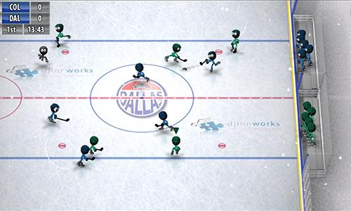 Stickman ice hockey скриншот 2