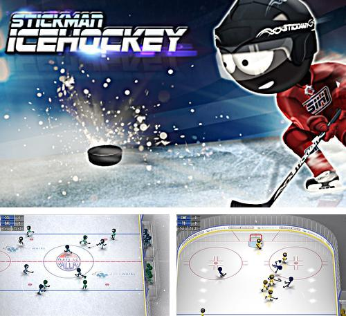 In addition to the game Stickman Tennis for Android phones and tablets, you can also download Stickman ice hockey for free.