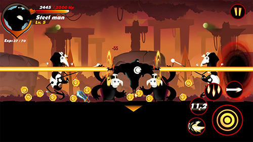 Sticks legends: Ninja warriors screenshot 2