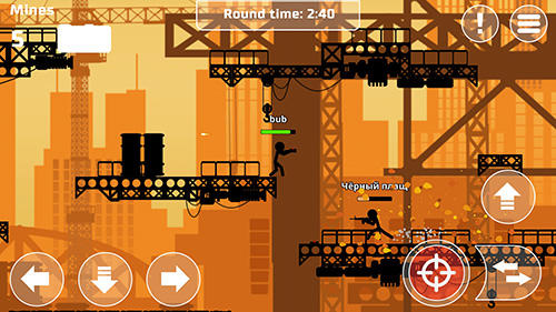 Screenshots von Stickman PvP wars online für Android-Tablet, Smartphone.
