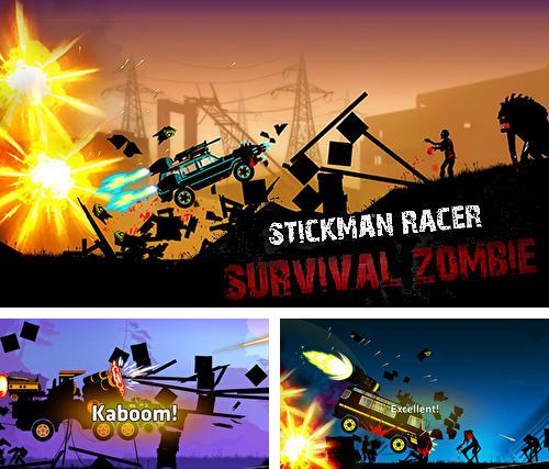 In addition to the game Bungo stray dogs: Tales of the lost for Android phones and tablets, you can also download Stickman racer: Survival zombie for free.