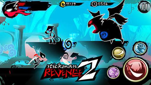 Screenshots do Stickman revenge 2 - Perigoso para tablet e celular Android.