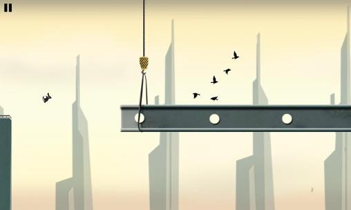 Stickman: Roof runner скриншот 2